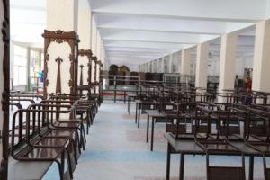 Куда уж лучше: завершается реконструкция второго зала столовой «Каспий»